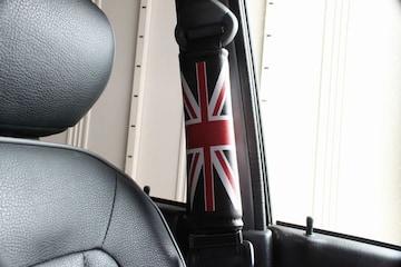 ユニオンジャックシートベルトパッド イングランド イギリス
