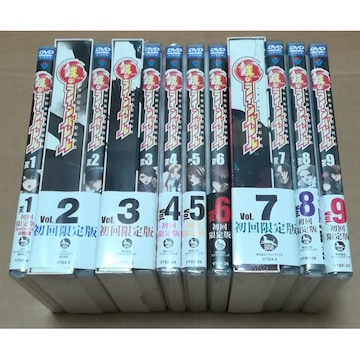 新品 鉄のラインバレル DVD 初回全9巻