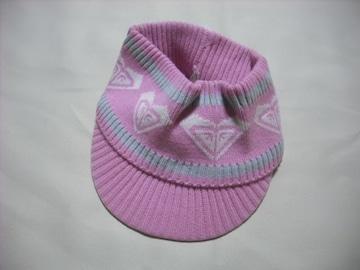 wn30 ROXY ロキシー ニットサンバイザー ピンク