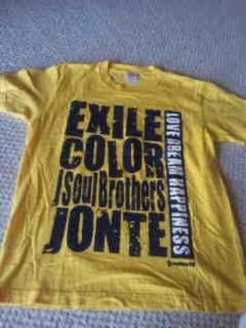 EXILE2008年ライブ・Tシャツsmallサイズ