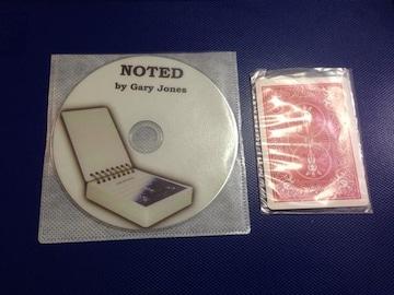 ノーテットby  Gary  jhones  ノートパッドが、デックに変わる