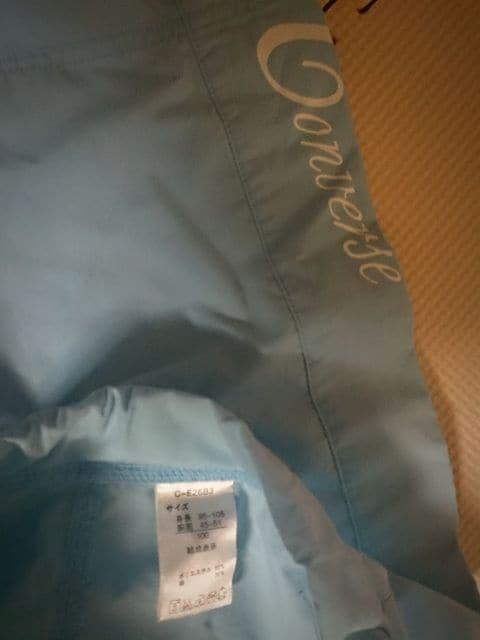100 Converse ブルーの水着美品 < キッズ/ベビーの