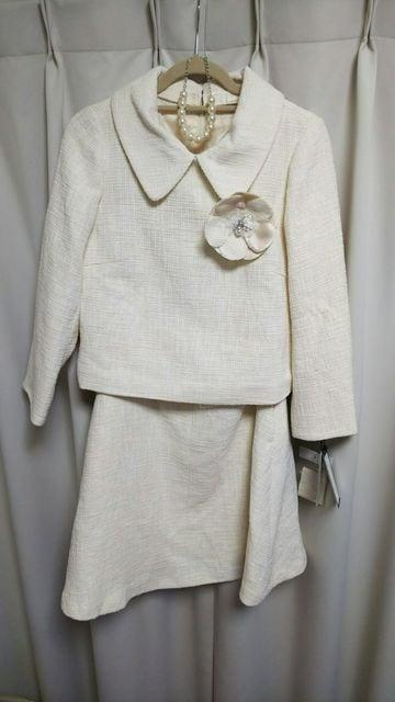 新品★品のあるスーツ上下13号  < 女性ファッションの