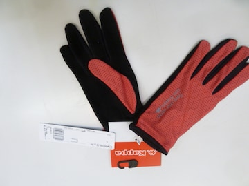 L 桃)カッパ★グローブ 手袋 KR218GL12 薄手軽量ソフト Kappa