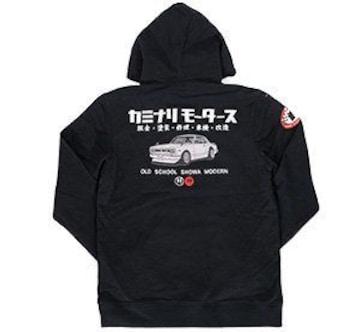 カミナリ雷/ハコスカGTR/パーカー/黒/kmpsp-100/エフ商会/テッドマン/カミナリモータース