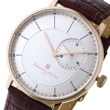 サルバトーレ マーラ クオーツ メンズ 腕時計 SM17105-PGSV