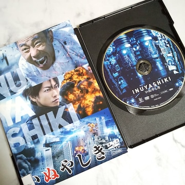 DVD★いぬやしき★レンタル落ち 木梨憲武 佐藤 健 本郷奏多