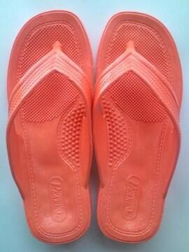 【送料込】即決★ギョサン★オレンジLサイズ(25〜26cm)新品!