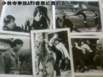 少林寺拳法 ムサシ香港に現わる 風間健 五十嵐淳子 スチール