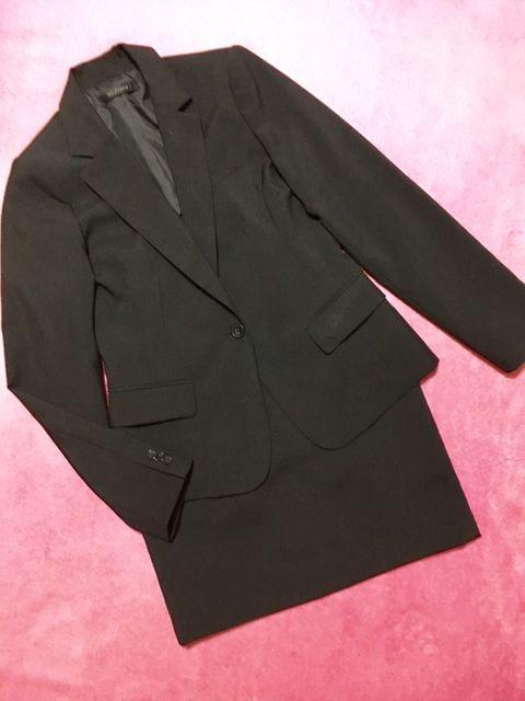 セントフィールド st.field スカート スーツ 上下セット 黒  < 女性ファッションの