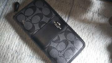 新品正規品COACH長財布ブラック