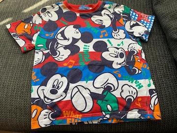 TDR ミッキーマウスTシャツ130センチ