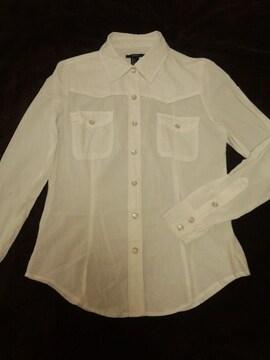 美品☆FOREVER21☆ホワイトシャツ☆S