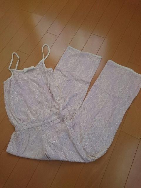 Ravijour ラヴィジュール/ルームウエア オールインワン パジャマ 部屋着 アイボリー  < 女性ファッションの