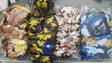 子犬服4枚まとめ売り(S)迷彩プードル新品