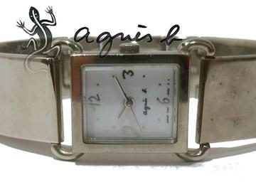 レア品 アニエスb./agnes b. バングルタイプ 腕時計★