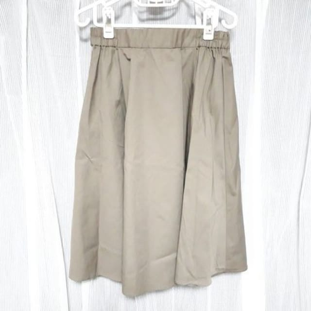 【新品】カラーギャザースカート/アースミュージック&エコロジー