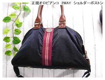 500円スタ★本物正規オロビアンコ ショルダーボストン