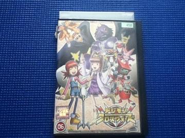 DVD デジモンクロスウォーズ 6巻 デジタルモンスター
