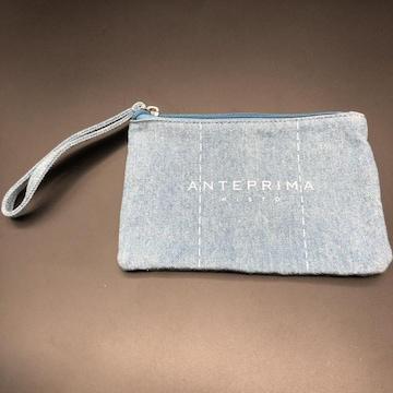 即決 ANTEPRIMA アンテプリマ デニム ポーチ