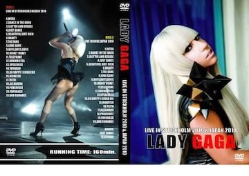 ≪送料無料≫LADY GAGA STOCKHOLM & JAPAN 2010 レディーガガ