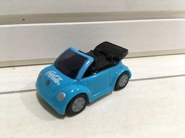 プルバックミニカー VW フォルクスワーゲン コカ・コーラ コカコーラ チョロQア クエリアスブルー 水色