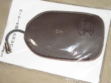 未開封☆ドコモダケ革製キーケース(ブラウン系)docomo非売品