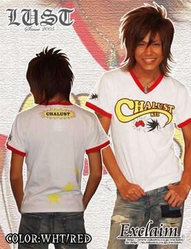 LUST×チャラ男芸人慶CHALUST Tシャツ/S 梅しゃん