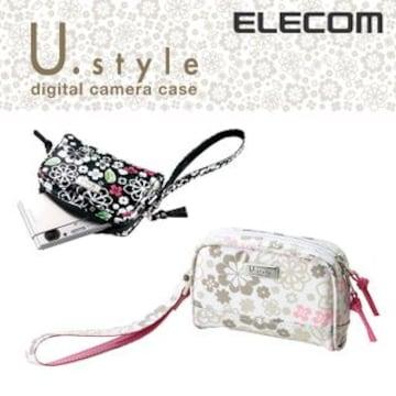 ☆ELECOM キュートなデザインのデジタルカメラケース