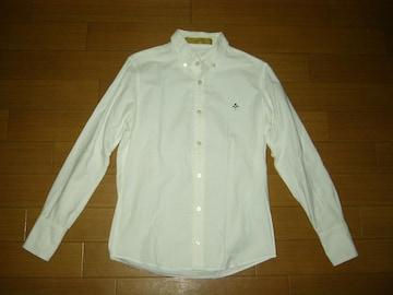 BACK BONE バックボーン  BDシャツ S 白 アイコンロゴLOGO長袖