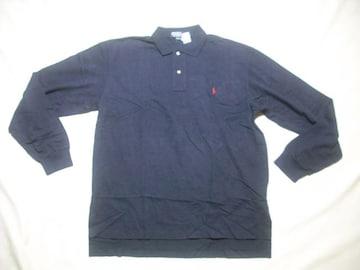 25 男 POLO RALPH LAUREN ラルフローレン 長袖ポロシャツ L