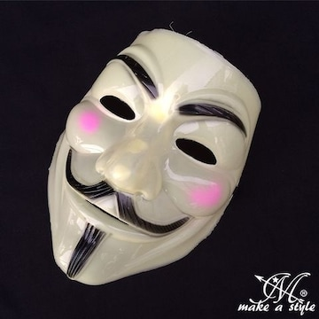 ヒップホップ ダンス マスク お面 アノニマス ガイフォークス302
