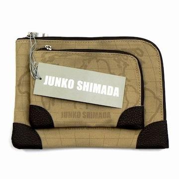 ☆ジュンコ シマダ(ワールドマップ柄)ポーチ