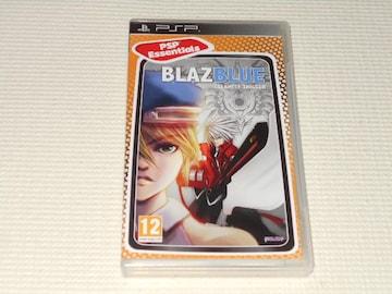 PSP★BLAZBLUE Calamity Trigger PSP Essentials 海外版