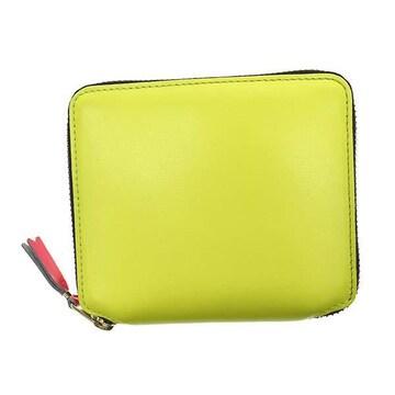 ◆新品本物◆コムデギャルソン SUPER FLUO 2つ折財布(YL)『SA2100SF』