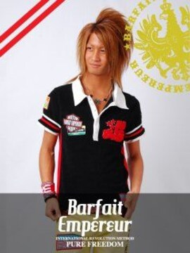 BarfaitEmpereur(バルフェアンプルール)パイルポロシャツS
