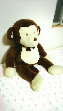 特大 105cm サル ぬいぐるみ  猿 ヒロクンハウス ビッグ さる