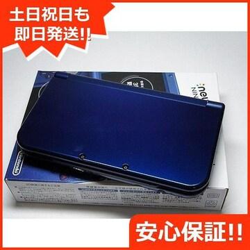◆新品未使用◆Newニンテンドー3DS LL メタリックブルー◆