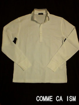 □COMME CA ISM/コムサイズム 襟付 サーマルシャツ/メンズ☆新品