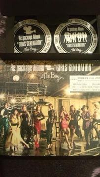 激安!超レア!☆少女時代/Re:package Album☆初回盤/CD+DVD+特典付!