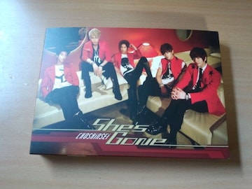 超新星CD「She's Gone」超☆初回限定盤●