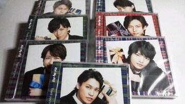 未開封◆ショップ限定盤 Kis-My-Ft2[Thank youじゃん!] 7枚セット