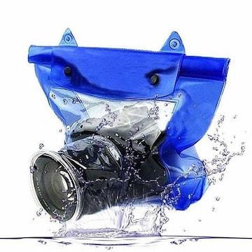 一眼レフカメラ 防水ケース デジタルカメラ 防水ポーチ 1/BZF