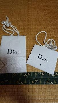 Dior ショップ袋 二枚セット