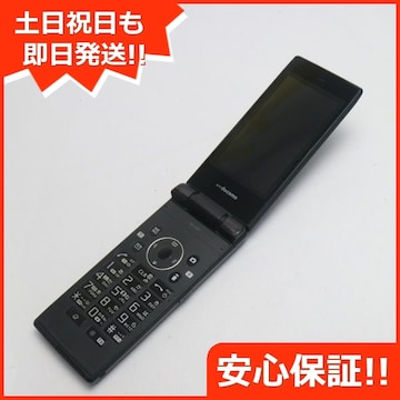 ●安心保証●美品●SH-03E ブラック●白ロム