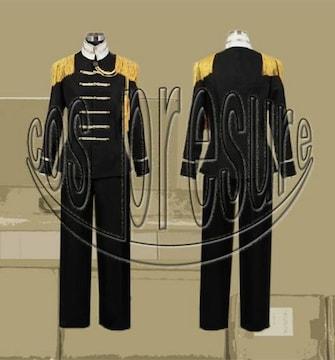 ヘタリア 日本 黒軍服 3巻欧州車事情◆コスプレ衣装