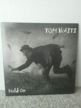 レーターパックライト送料無料 トム ウェイツ シングルレコード ホールド・オン 新品 EP