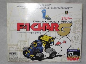 テーブルサーキット F-1チャージ ミナルディー