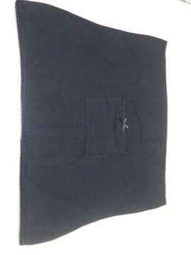 新品同様 ポケット付き腹巻き(7L)黒
