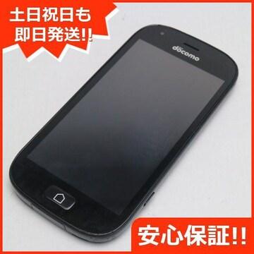 安心保証●良品中古●F-04J らくらくスマートフォン4 ブラック